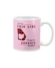 OHIO GIRL LIVING IN GEORGIA WORLD Mug thumbnail