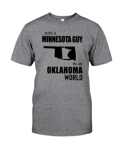 JUST A MINNESOTA GUY IN AN OKLAHOMA WORLD