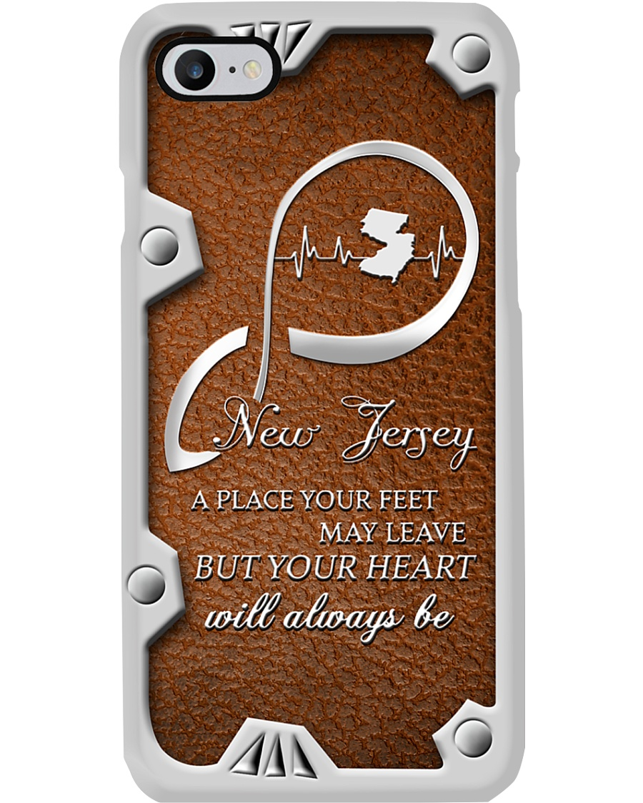 NEW JERSEY YOUR FEET MAY LEAVE Phone Case