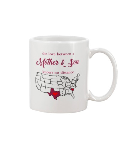 TEXAS SOUTH CAROLINA THE LOVE MOTHER AND SON