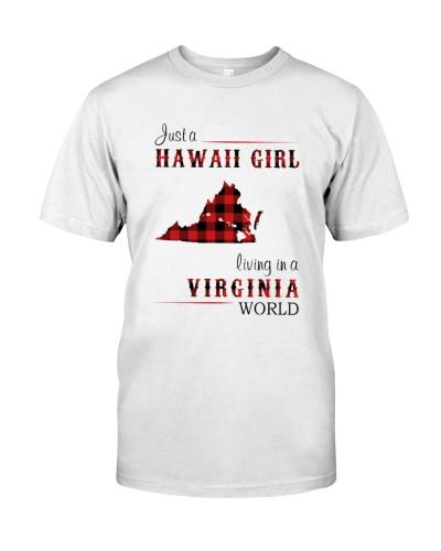 HAWAII GIRL LIVING IN VIRGINIA WORLD