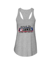 MADE IN IOWA A LONG LONG TIME AGO Ladies Flowy Tank thumbnail