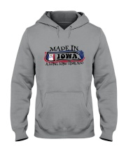 MADE IN IOWA A LONG LONG TIME AGO Hooded Sweatshirt thumbnail