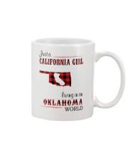 CALIFORNIA GIRL LIVING IN OKLAHOMA WORLD Mug thumbnail