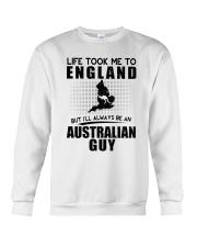 AUSTRALIAN GUY LIFE TOOK TO ENGLAND Crewneck Sweatshirt thumbnail