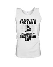 AUSTRALIAN GUY LIFE TOOK TO ENGLAND Unisex Tank thumbnail