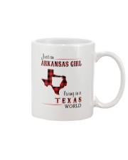 ARKANSAS GIRL LIVING IN TEXAS WORLD Mug thumbnail