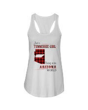 TENNESSEE GIRL LIVING IN ARIZONA WORLD Ladies Flowy Tank thumbnail