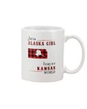 ALASKA GIRL LIVING IN KANSAS WORLD Mug thumbnail