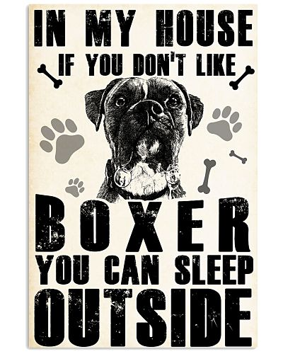 IF YOU DON'T LIKE BOXER YOU CAN SLEEP OUTSITE