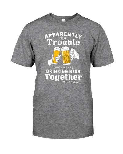 DRINKING BEER TOGETHER