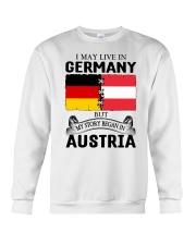 LIVE IN GERMANY BEGAN IN AUSTRIA ROOT WOMEN Crewneck Sweatshirt thumbnail