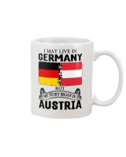 LIVE IN GERMANY BEGAN IN AUSTRIA ROOT WOMEN Mug thumbnail
