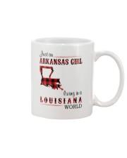 ARKANSAS GIRL LIVING IN LOUISIANA WORLD Mug thumbnail
