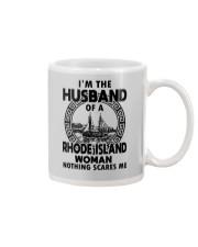 I'M THE HUSBAND OF A RHODE ISLAND WOMAN Mug thumbnail