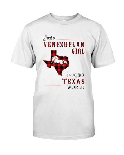 VENEZUELAN GIRL LIVING IN TEXAS WORLD