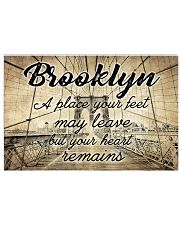 BROOKLYN YOUR HEART REMAINS 24x16 Poster front