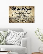 BROOKLYN YOUR HEART REMAINS 24x16 Poster poster-landscape-24x16-lifestyle-01