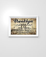 BROOKLYN YOUR HEART REMAINS 24x16 Poster poster-landscape-24x16-lifestyle-02