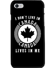 CANADA LIVES IN ME Phone Case thumbnail