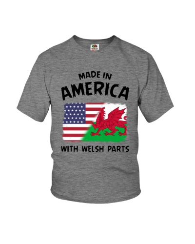 AMERICA WITH WELSH PARTS