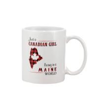 CANADIAN GIRL LIVING IN MAINE WORLD Mug thumbnail