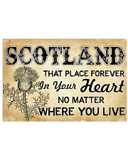 SCOTLAND THAT PLACE FOREVER IN YOUR HEART 17x11 Poster front