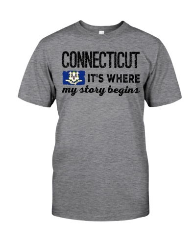 CONNECTICUT IT'S WHERE MY STORY BEGINS