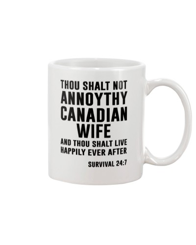 NOT ANNOYTHY CANADIAN WIFE