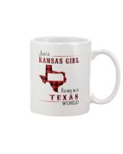 KANSAS GIRL LIVING IN TEXAS WORLD Mug thumbnail