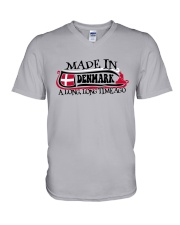 MADE IN DENMARK A LONG LONG TIME AGO V-Neck T-Shirt thumbnail