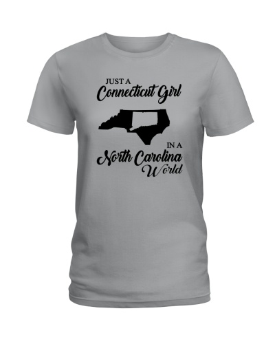 JUST A CONNECTICUT GIRL IN A NORTH CAROLINA WORLD