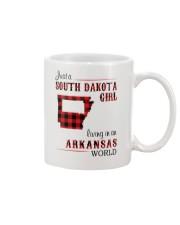 SOUTH DAKOTA GIRL LIVING IN ARKANSAS WORLD Mug thumbnail