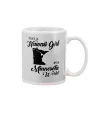 JUST A HAWAII GIRL IN A MINNESOTA WORLD Mug thumbnail