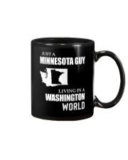 JUST A MINNESOTA GUY LIVING IN WASHINGTON WORLD Mug thumbnail
