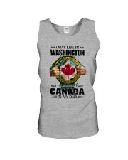 LIVE IN WASHINGTON CANADA IN MY DNA Unisex Tank thumbnail