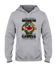 LIVE IN WASHINGTON CANADA IN MY DNA Hooded Sweatshirt thumbnail