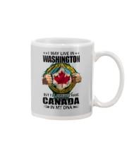 LIVE IN WASHINGTON CANADA IN MY DNA Mug thumbnail
