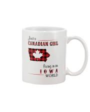 CANADIAN GIRL LIVING IN IOWA WORLD Mug thumbnail