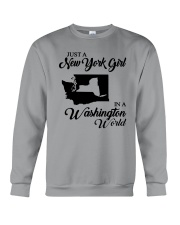 JUST A NEW YORK GIRL IN A WASHINGTON WORLD Crewneck Sweatshirt thumbnail