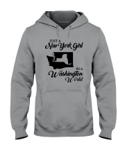 JUST A NEW YORK GIRL IN A WASHINGTON WORLD Hooded Sweatshirt thumbnail