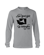 JUST A NEW YORK GIRL IN A WASHINGTON WORLD Long Sleeve Tee thumbnail
