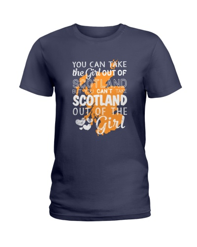 YOU CAN'T TAKE SCOTLAND OUT OF THE GIRL
