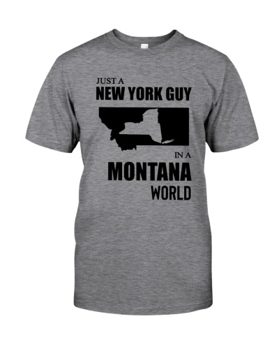 JUST A NEW YORK GUY IN A MONTANA WORLD