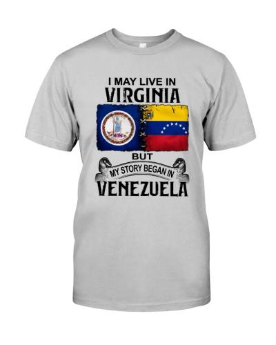 LIVE IN VIRGINIA BEGAN IN VENEZUELA