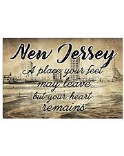 NEW JERSEY A PLACE YOUR HEART REMAINS 24x16 Poster front