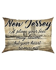 NEW JERSEY A PLACE YOUR HEART REMAINS Rectangular Pillowcase thumbnail