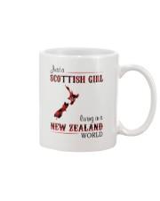 SCOTTISH GIRL LIVING IN NEW ZEALAND WORLD Mug thumbnail