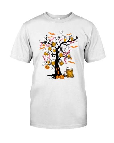 HALLOWEEN BEER TREE