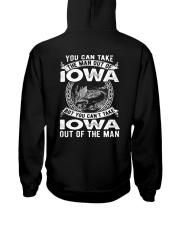 YOU CAN'T TAKE IOWA OUT OF MAN Hooded Sweatshirt thumbnail